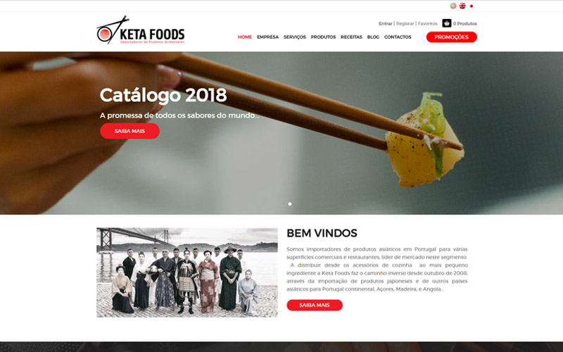 Keta Foods - Website